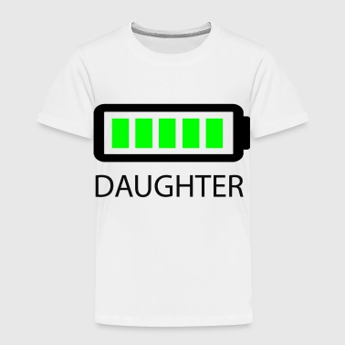 Battery Full Daughter - Toddler Premium T-Shirt