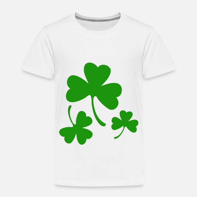 3 Three Leaf Clovers Toddler Premium T Shirt Spreadshirt