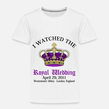 Wedding Royal Wedding - Toddler Premium T-Shirt