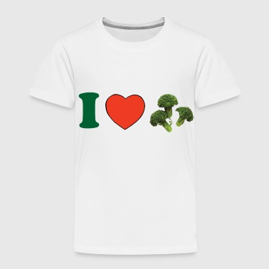 I ♥ Broccoli - Toddler Premium T-Shirt