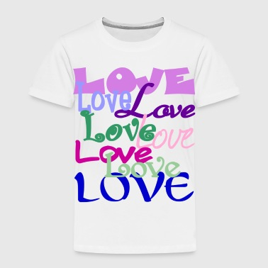 Love, Love, Love - Toddler Premium T-Shirt