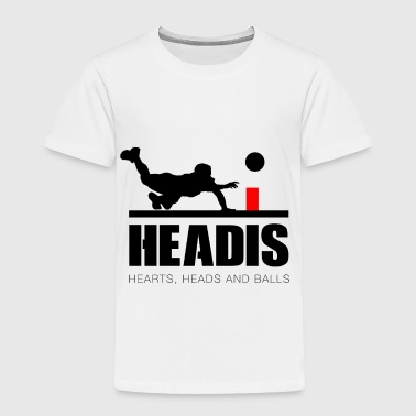 Headis Hearts, Heads and Balls - Toddler Premium T-Shirt