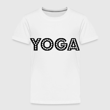 yoga wording - Toddler Premium T-Shirt