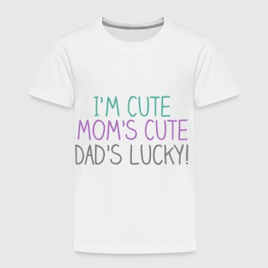 Cute Cute Lucky Baby - Toddler Premium T-Shirt
