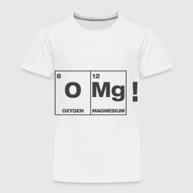 Izombi iZombie OMg Periodic Table Shirt - Toddler Premium T-Shirt