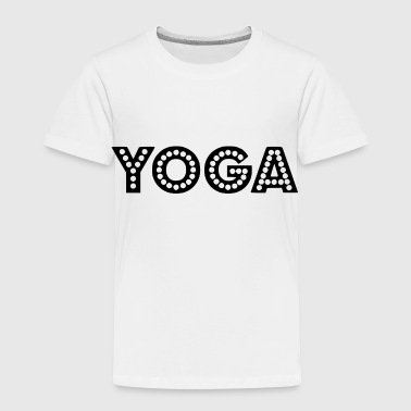 Geometry yoga wording - Toddler Premium T-Shirt