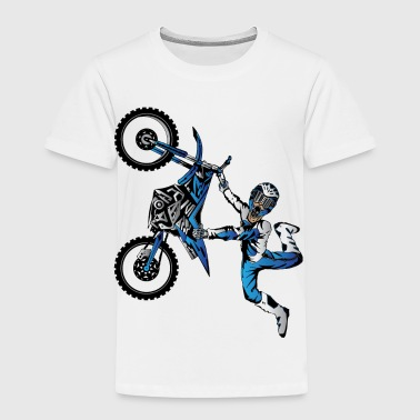 Motocross Yamaha Freestyle Motocross - Toddler Premium T-Shirt