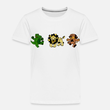 Animation Animals - Toddler Premium T-Shirt