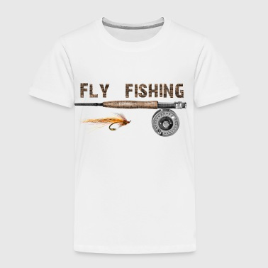 Fly fishing - Toddler Premium T-Shirt