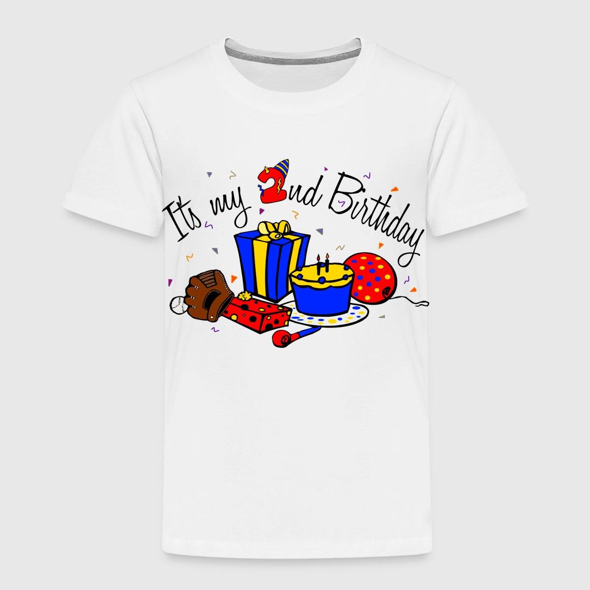 Toddler Boy 2nd Birthday Shirts