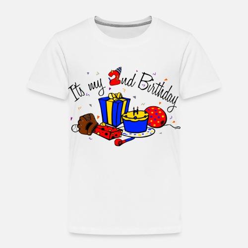 Toddler Premium T ShirtIts My 2nd Birthday Boy