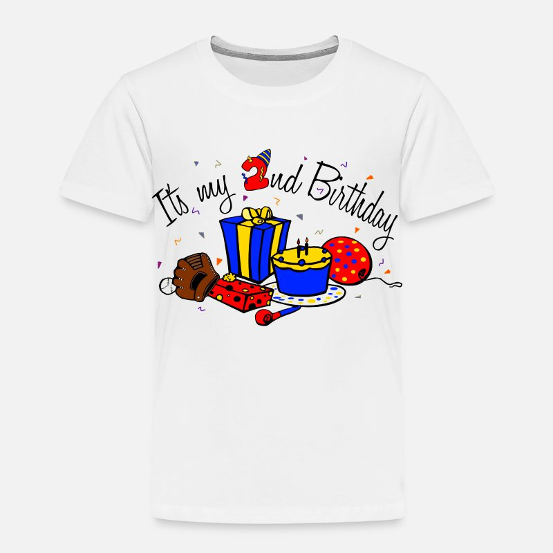 Its My 2nd Birthday Boy Toddler Premium T Shirt