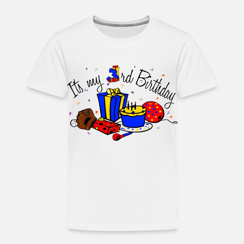 Its My 3rd Birthday Boy Toddler Premium T Shirt