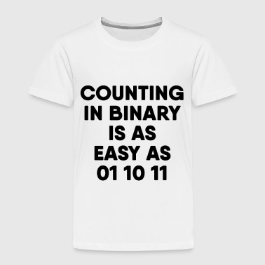 Computer Science Binary - Toddler Premium T-Shirt