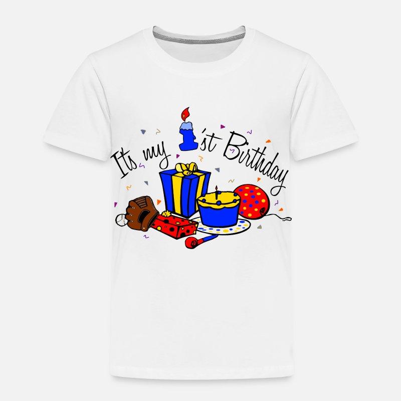 Its My 1st Birthday Boy Toddler Premium T Shirt