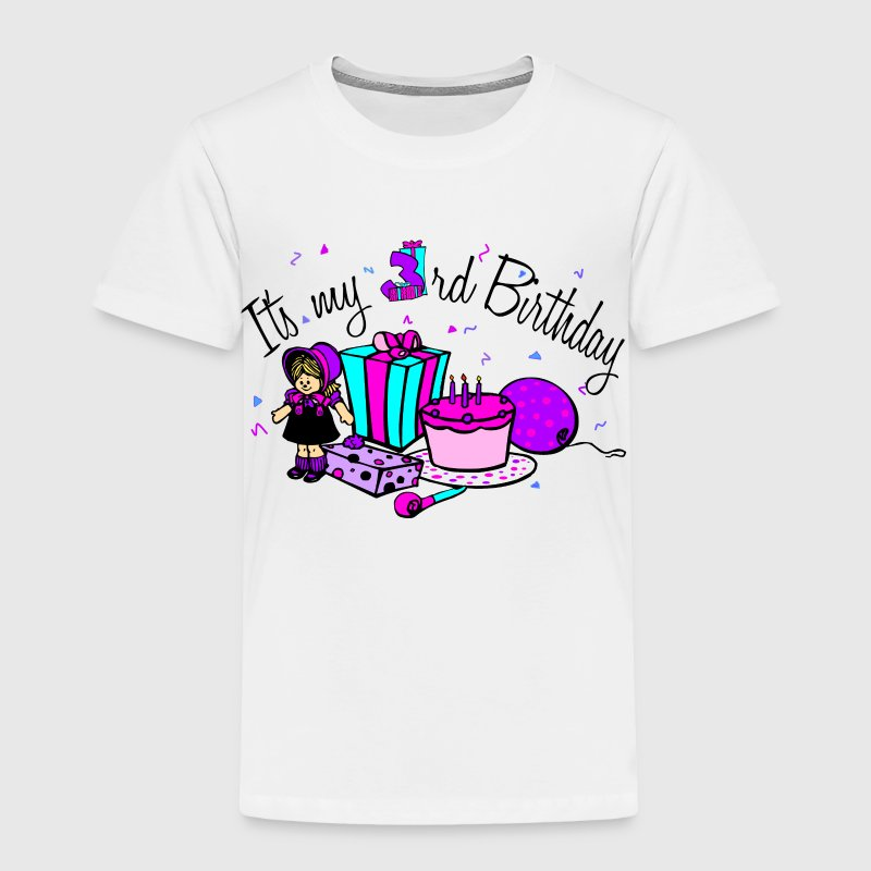 Its my 3rd Birthday-Girl - Toddler Premium T-Shirt