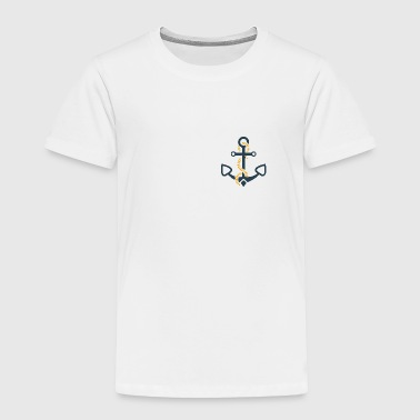 anchor and ropes | fisherman angler sailor - Toddler Premium T-Shirt