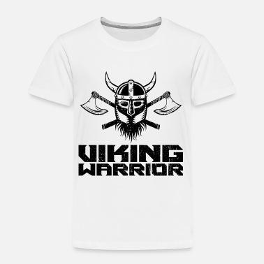 Barbarian Viking Warrior | Valhalla Odin Asgard Midgard - Toddler Premium T-Shirt