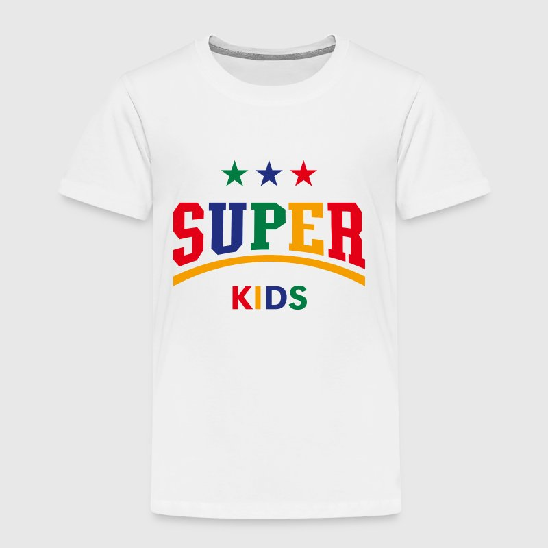 Super Kids (PNG) - Toddler Premium T-Shirt