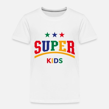 Super Super Kids (PNG) - Toddler Premium T-Shirt