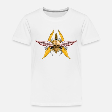 Flugel skull wings - Toddler Premium T-Shirt