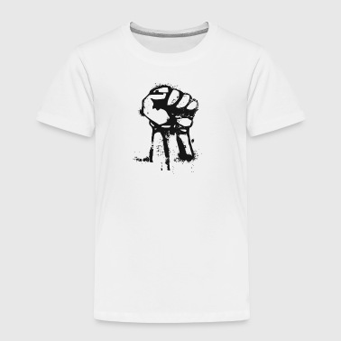 Fight the power fist - Toddler Premium T-Shirt