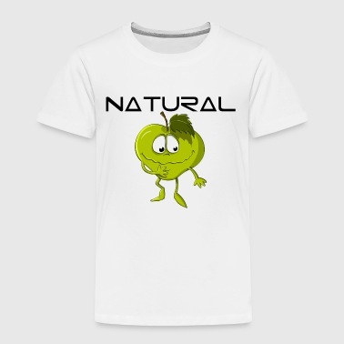 Natural Apple Eco Bio - Toddler Premium T-Shirt