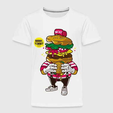 I Love Burger - Toddler Premium T-Shirt