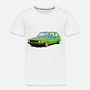 Old Old Cool Car - Toddler Premium T-Shirt