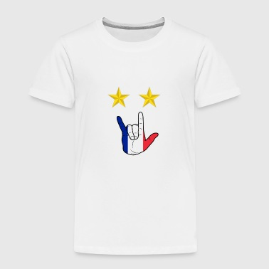 Champion France Soccer World Cup - Toddler Premium T-Shirt