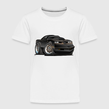 Stance Seventies Classic Muscle Car Cartoon - Toddler Premium T-Shirt