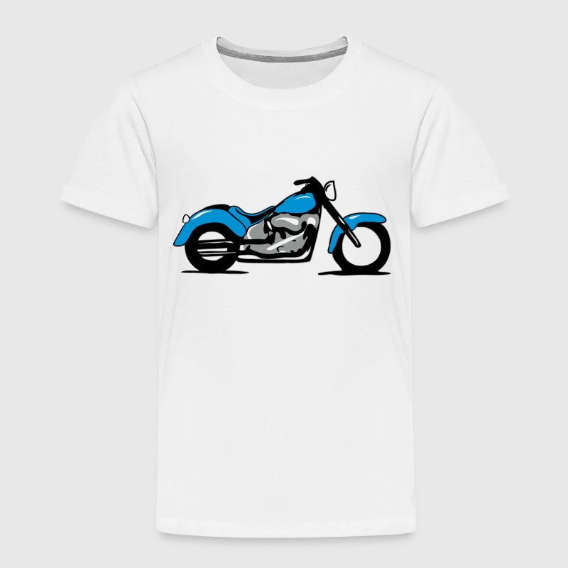 Cool Motorbike - Toddler Premium T-Shirt