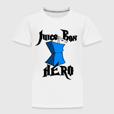Juice Box Hero U.S. Custom Ink - Toddler Premium T-Shirt