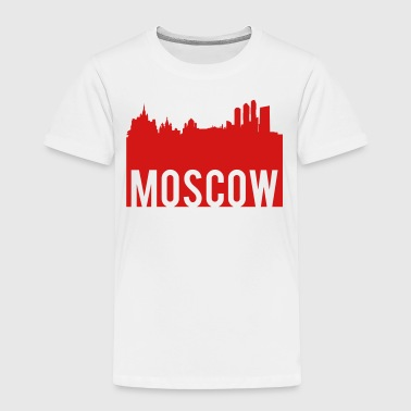 Moscow Moscow Skyline - Toddler Premium T-Shirt