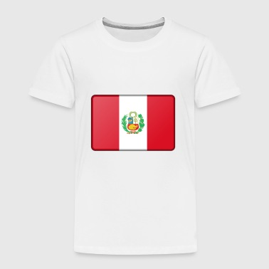Peru Flag - Toddler Premium T-Shirt