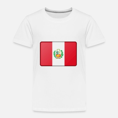 Peru Peru Flag - Toddler Premium T-Shirt