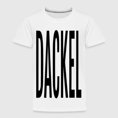 DACKEL - Toddler Premium T-Shirt