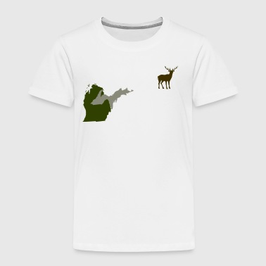 Funny Michigan Yooper Hunting Parody Deer T-Shirt  - Toddler Premium T-Shirt