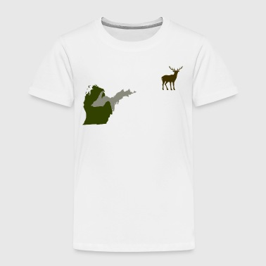 Upper Peninsula Funny Michigan Yooper Hunting Parody Deer T-Shirt  - Toddler Premium T-Shirt