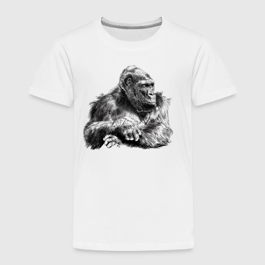 Gorilla - Toddler Premium T-Shirt
