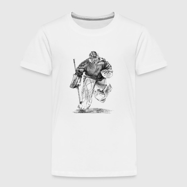 Hockey Goalie Hockey Torwart - Toddler Premium T-Shirt