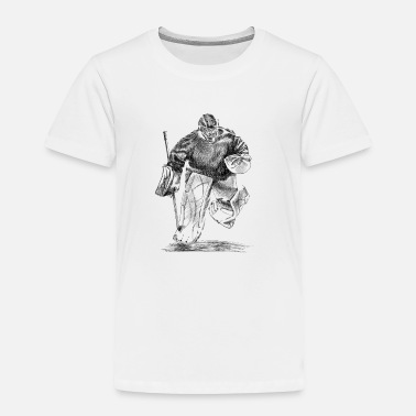 Hockey Hockey Torwart - Toddler Premium T-Shirt