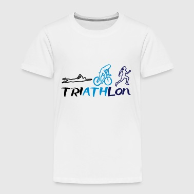 Triathlon Women - Toddler Premium T-Shirt