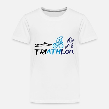 Womens Triathlon Triathlon Women - Toddler Premium T-Shirt