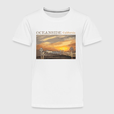 San Diego Kids Oceanside California Cali Socal  - Toddler Premium T-Shirt