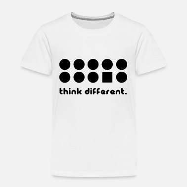 Different THINK DIFFERENT - Toddler Premium T-Shirt