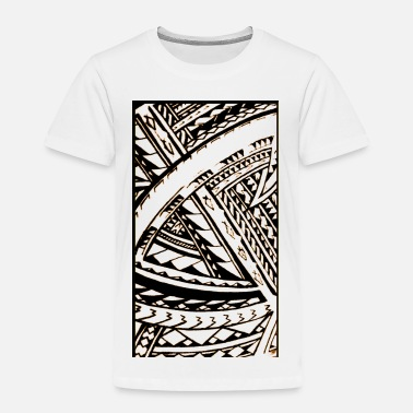 Polynesian Fili Samoan Tribal art by Sku - Toddler Premium T-Shirt
