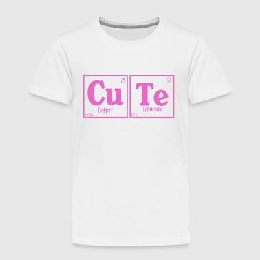 Cute (pink) - Toddler Premium T-Shirt