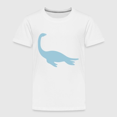 dinosaur sea creature - Toddler Premium T-Shirt