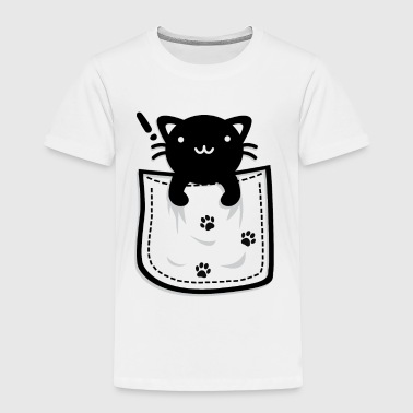 Cat_in_the_Pocket - Toddler Premium T-Shirt
